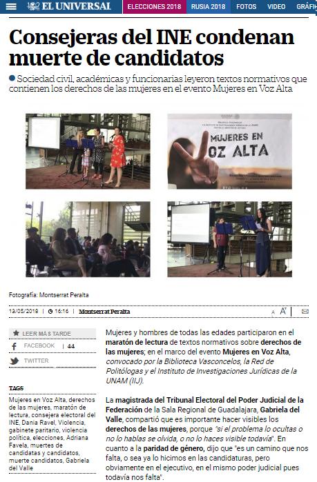 Mujeres en Voz Alta